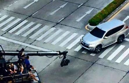 Mitsubishi Pajero Sport 2016 шпионское фото