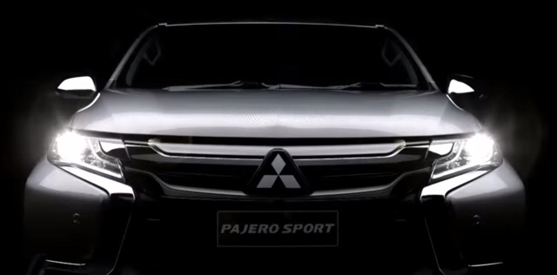 Mitsubishi Pajero Sport 2016 видео-тизер