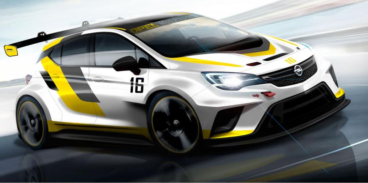 Opel Astra TCR render