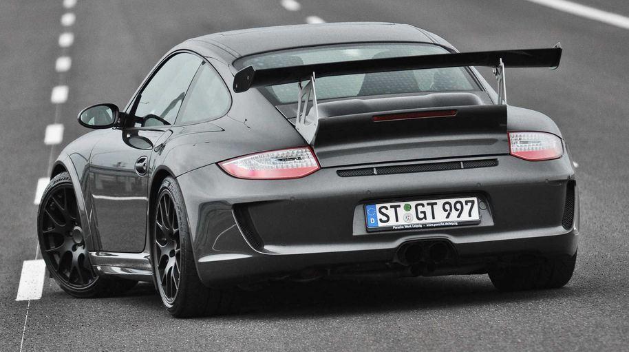 Porsche 911 Turbo tuning / тюнинг 800 л.с. в стиле GT3
