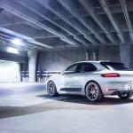 Porsche Macan Turbo на тюнинг-колесах Vorsteiner V-FF 103 Flow Forged