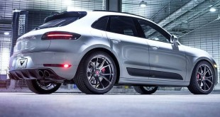 Porsche Macan Turbo на тюнинг-колесах Vorsteiner V-FF 103 Flow Forged