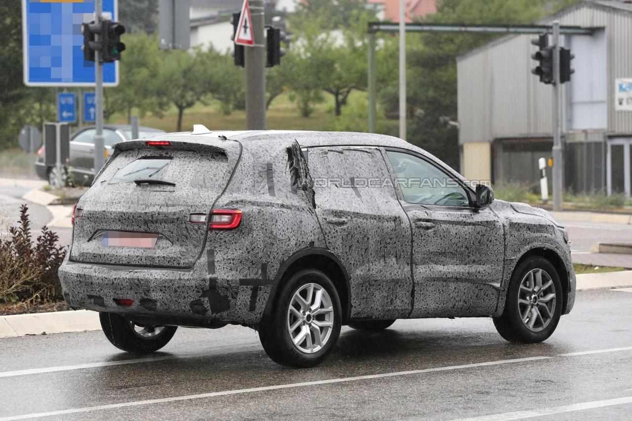 Renault Koleos 2016 - 2017 шпионское фото