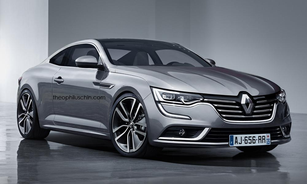 Renault Talisman Coupe render by Theophilus Chin