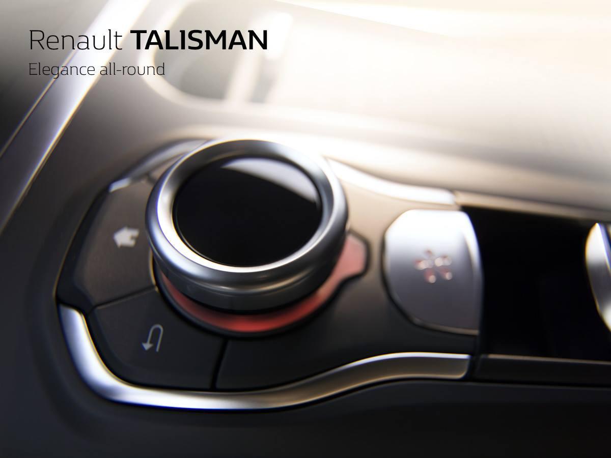 Renault TALISMAN тизер части интерьера