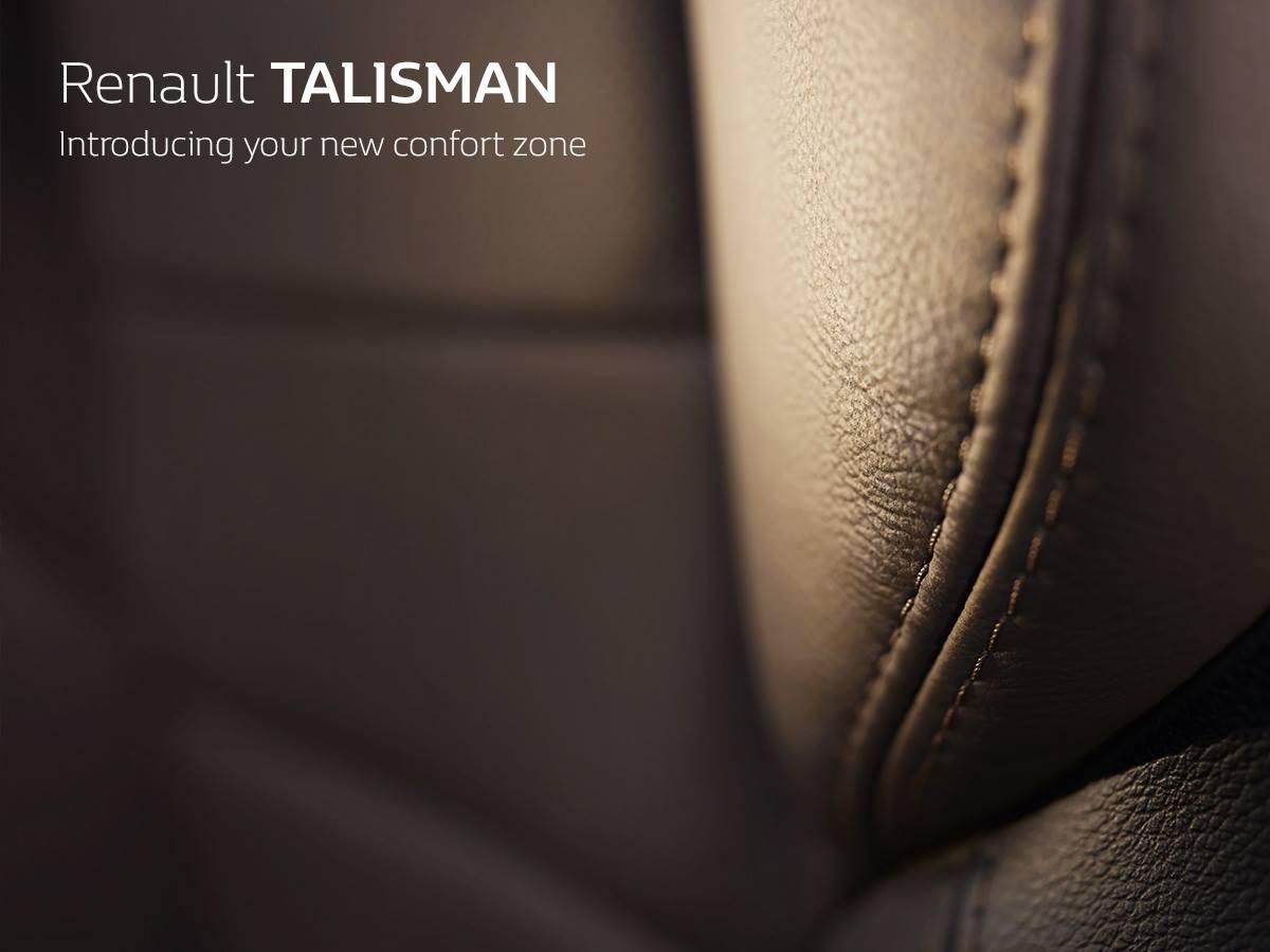 Renault TALISMAN тизер