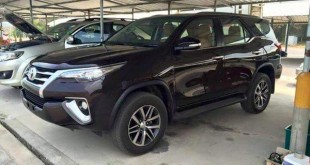 Toyota Fortuner 2016 spy photo / шпионское фото