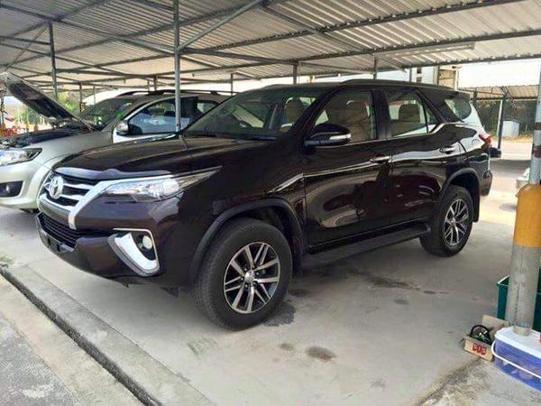 Toyota Fortuner 2016 spy photo / шпионское фото
