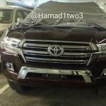 Toyota Land Cruiser 200 2016 spy photo - шпионское фото