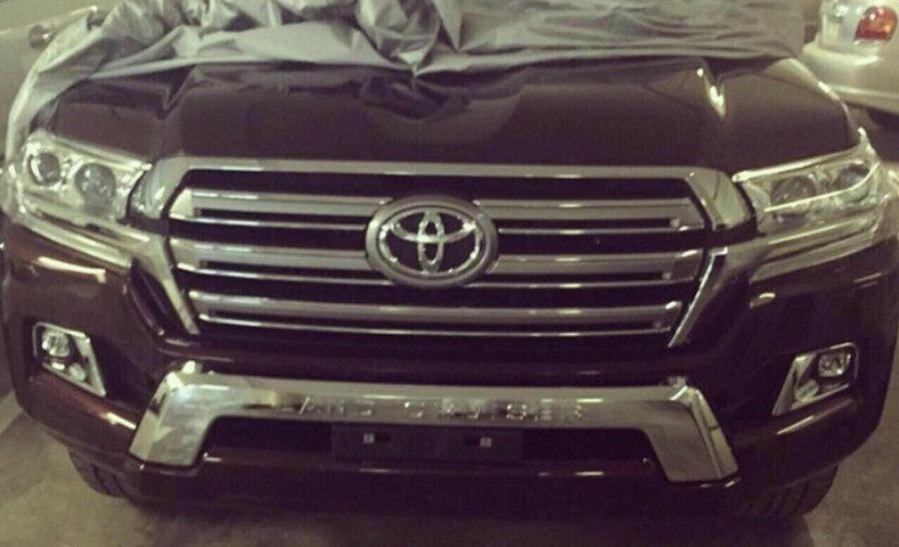 Toyota Land Cruiser 2016 spy photo / шпионское фото