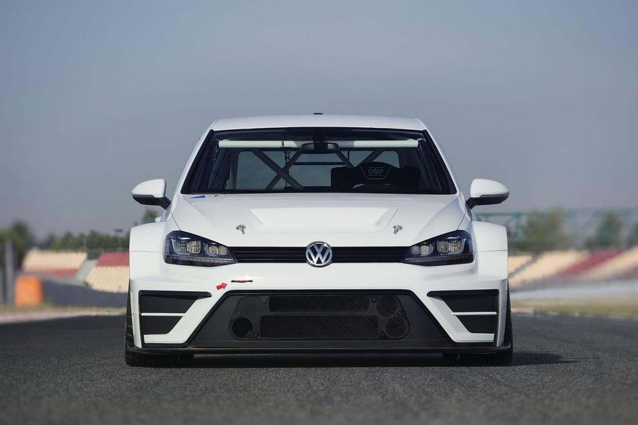 Volkswagen Golf race car concept / гоночный концепт