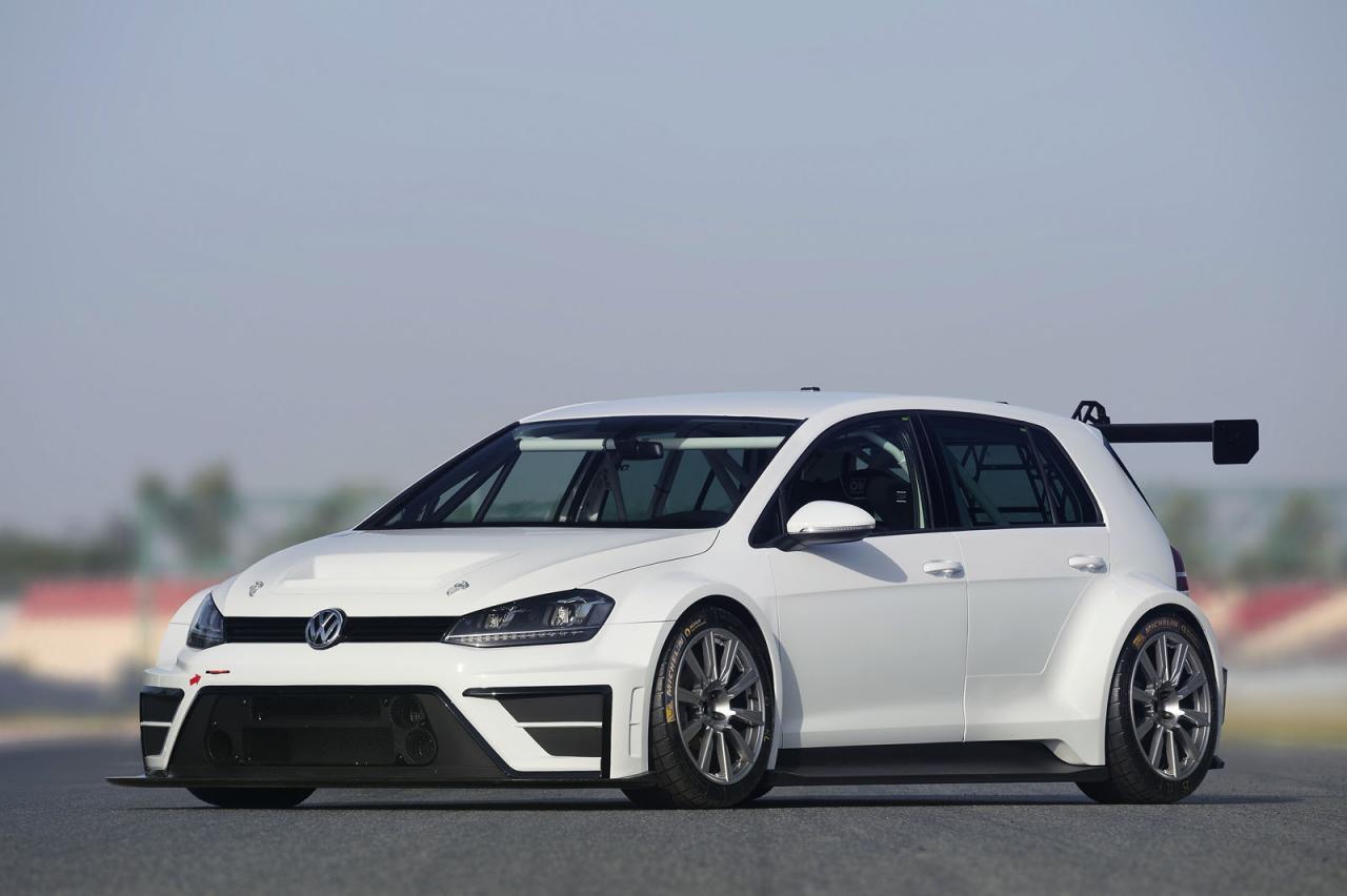 Volkswagen Golf race car concept / гоночный концепт