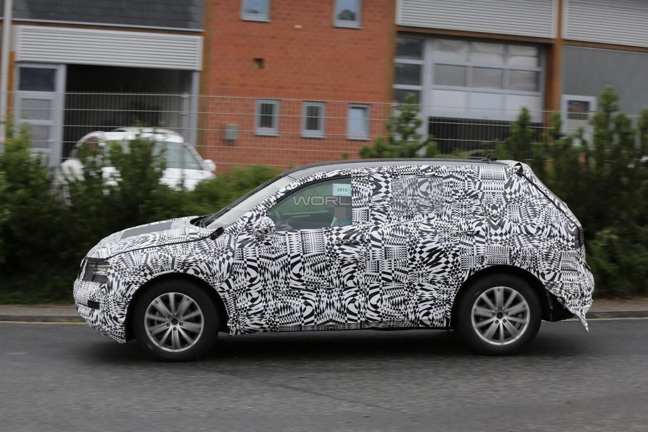 Volkswagen Tiguan 2016 шпионское фото