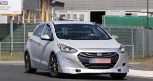 Hyundai i30 N шпионское фото