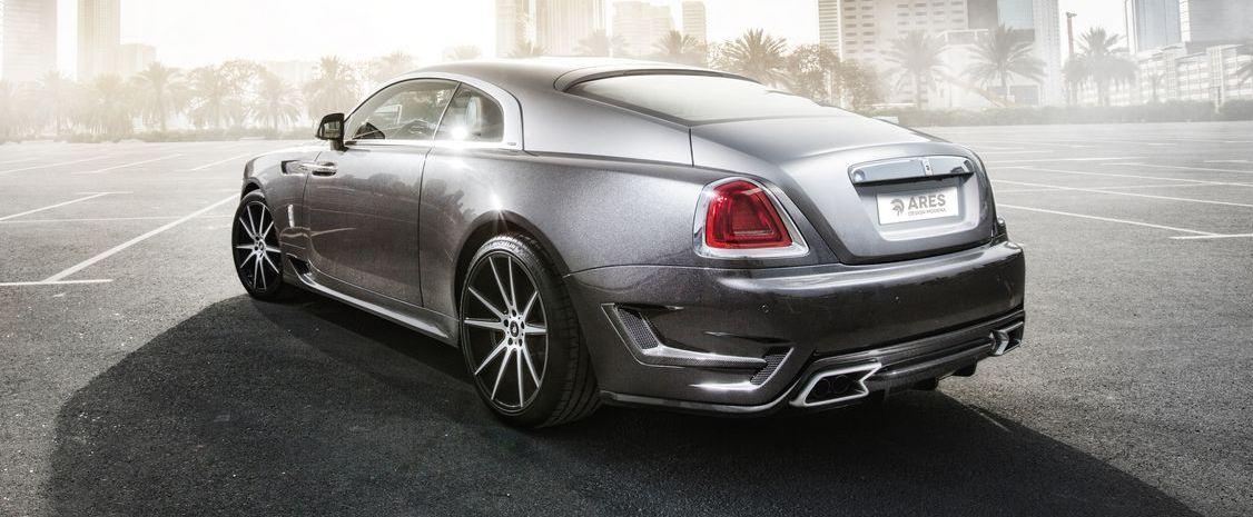 Rolls-Royce Wraith tuning / тюнинг Ares Design