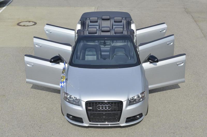 Audi A3 Cabrio шестидверный  длиннобазный