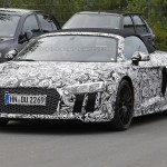 Audi R8 Spyder 2017 шпионское фото