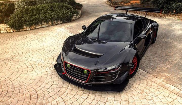 Projekt Potter & Rich Audi R8 V10 tuning / тюнинг McChip-DKR
