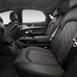 Audi S8 Plus interior rear seats