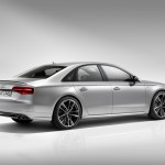 Audi S8 Plus rear side