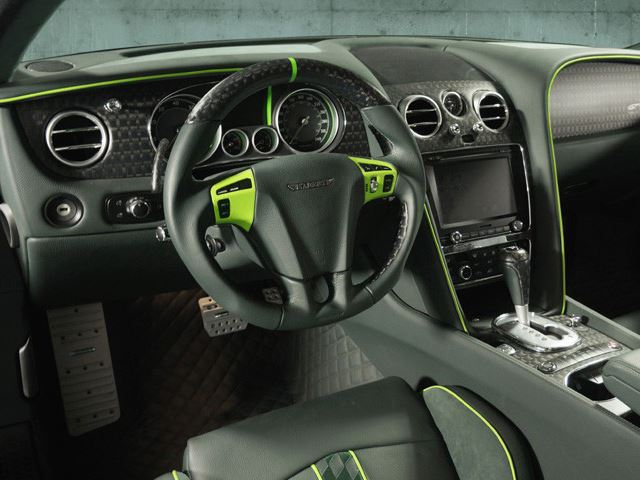 Bentley Continental GT Race tuning / тюнинг Mansory interior | интерьер