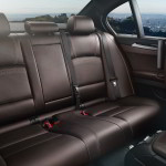 BMW 5-Series 2015 interior rear seats