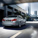 BMW 5-Series 2015 rear side