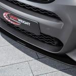 BMW X4 xDrive35d tuning / тюнинг Lightweight - front spoiler