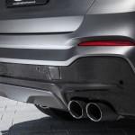 BMW X4 xDrive35d tuning / тюнинг Lightweight - exhaust tips