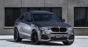 BMW X4 xDrive35d tuning / тюнинг Lightweight - front