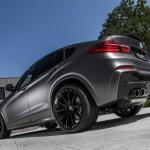 BMW X4 xDrive35d tuning / тюнинг Lightweight - rear