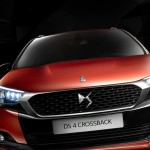 DS 4 Crossback 2016 front end