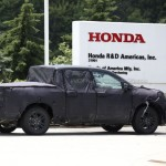 Honda Ridgeline 2017 шпионское фото