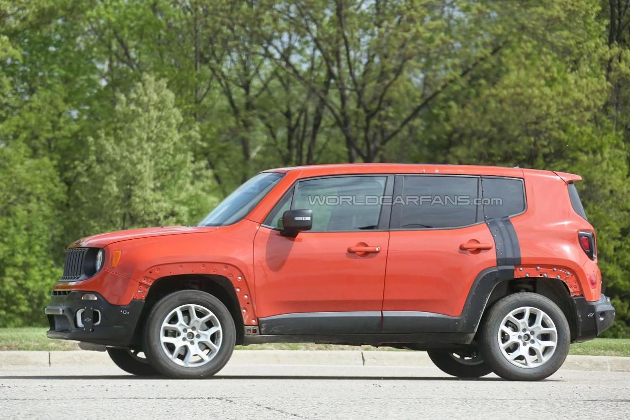 Преемник Jeep Compass / Patrion - тестовый мул в кузове Renegade
