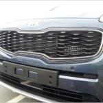 Kia Sportage 2016 радиаторная решетка