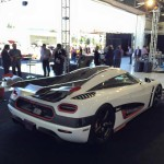 Koenigsegg One:1 rear side / сзади сбоку