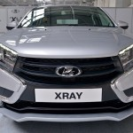 Lada XRAY фото серийной версии