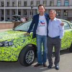 Lada Vesta и Lada XRAY публичный тест-драйв в Казани