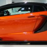 Оранжево-черный Lamborghini Aventador tuning / тюнинг Mansory