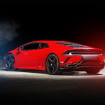 Lamborghini Huracan tuning / тюнинг Ares Performance - Design | rear side