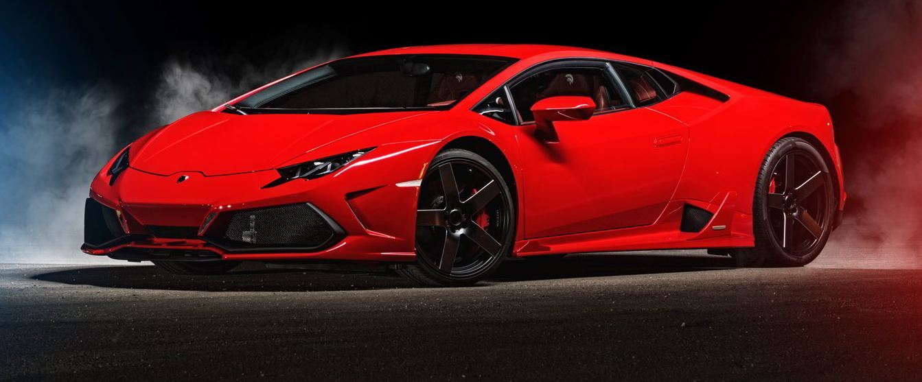 Lamborghini Huracan tuning / тюнинг Ares Performance - Design | front side