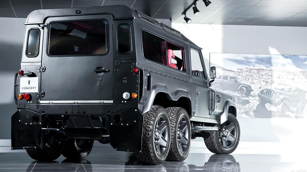 Land Rover Defender Flying Huntsman 6x6 tuning / тюнинг Kahn Design | exterior/экстерьер