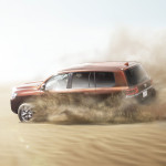Toyota Land Cruiser 2016 in action