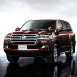 Toyota Land Cruiser 2016 brown