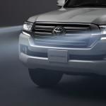 Toyota Land Cruiser 2016 headlights