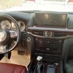Lexus LX 2016 interior dashboard / интерьер передняя панель