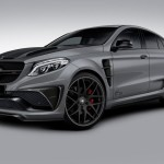 Lumma CLR G 800 tuning / тюнинг Mercedes GLE Coupe | grey front end