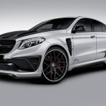 Lumma CLR G 800 tuning / тюнинг Mercedes GLE Coupe | white front end