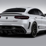 Lumma CLR G 800 tuning / тюнинг Mercedes GLE Coupe | white rear end