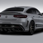 Lumma CLR G 800 tuning / тюнинг Mercedes GLE Coupe | grey rear end